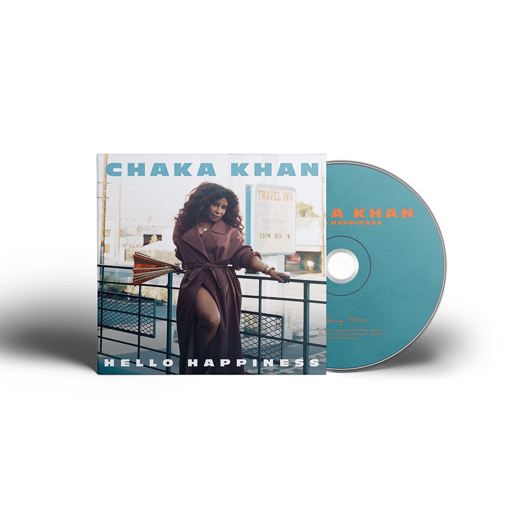 CHAKA KHAN #HelloHappiness Album Cover CD